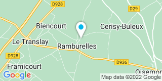 Plan Carte Bacouel à Ramburelles
