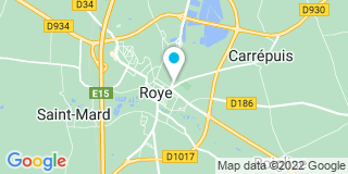 Plan Carte Fabriplast Menuiseries à Roye