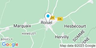 Plan Carte Société Européenne pour le Confort Individuel (SECI) à Roisel
