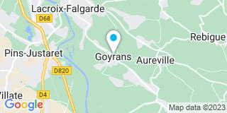 Plan Carte Castorama  à Portet-sur-Garonne