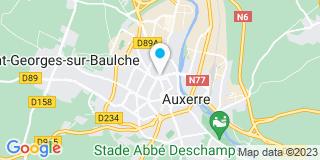 Plan Carte Maison Phenix à Auxerre