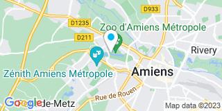 Plan Carte Réseau Habitat à Amiens