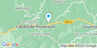 Plan Carte Pistre et Fils à Labastide Rouairoux