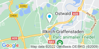 Plan Carte Leroy Merlin à La Vigie (Ostwald)