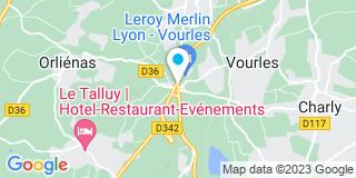 Plan Carte Leroy Merlin à Vourles