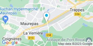Plan Carte Leroy Merlin à Bois-d'Arcy