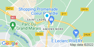 Plan Carte Leroy Merlin à Amiens