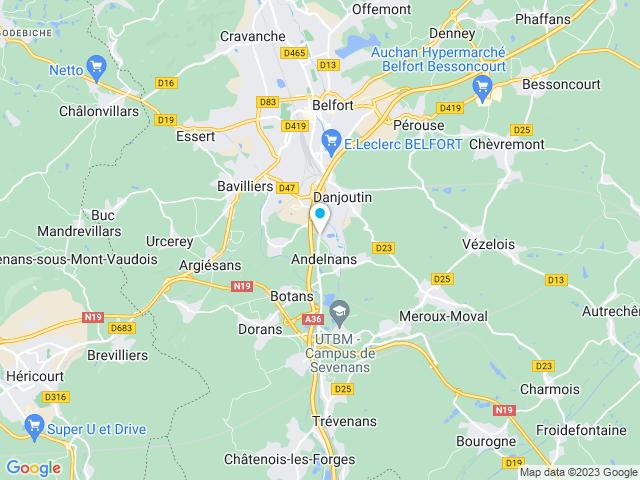 Leroy Merlin à Belfort Andelnans Territoire De Belfort