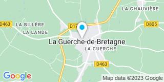 Plan Carte Gédimat de Guerche-Bretagne