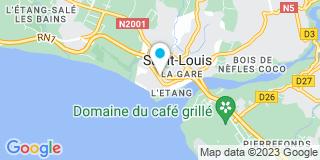 Plan Carte Leroy Merlin à La Réunion (Saint-Louis)