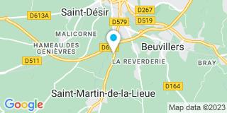 Plan Carte Mikit à Lisieux