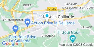Plan Carte Mikit à Brive-la-Gaillarde