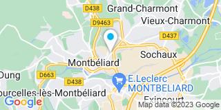 Plan Carte Mikit à Montbeliard