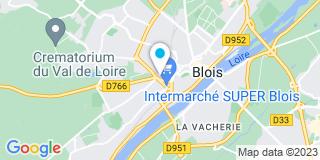 Plan Carte Mikit à Blois