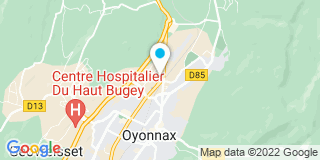 Plan Carte Mr Bricolage à Oyonnax