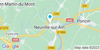 Plan Carte Sentenac à Neuville-sur-Ain