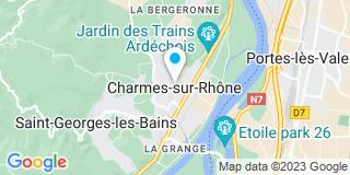 Plan Carte Zancanaro  à  Charmes-sur-Rhone