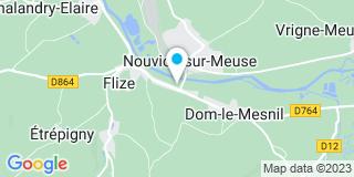 Plan Carte Sofibat à Dom-le-Mesnil