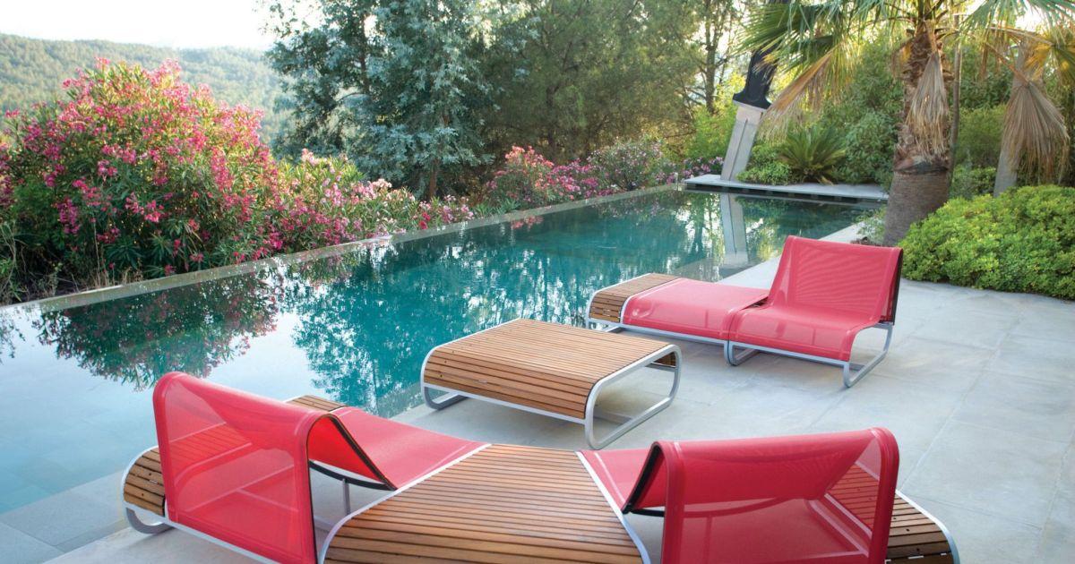 Notre s lection de mobilier ext rieur haut de gamme mobilier de jardin design pour des moments - Mobilier jardin haut de gamme ...