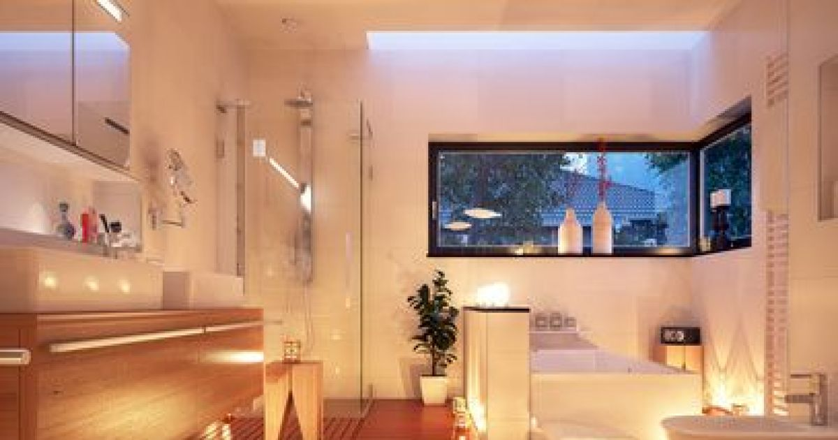 10 id es d co pour une salle de bain esprit spa for Prix pour renover une salle de bain