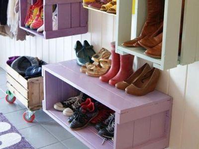 10 idées récup' pour créer des rangements dans une maison