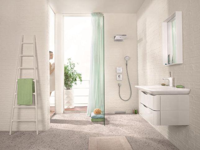 Un radiateur sèche serviette façon échelle