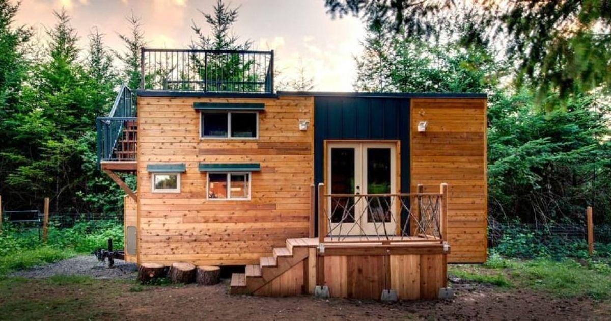 a la d u00e9couverte de la tiny house   une petite maison sur roues