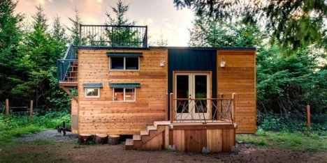 A la découverte de la tiny house : une petite maison sur roues