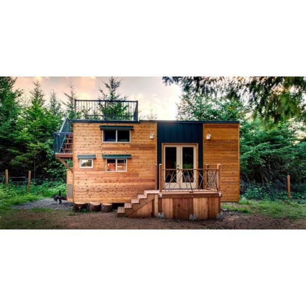 maison en bois sur roues id e int ressante pour la conception de meubles en bois qui inspire. Black Bedroom Furniture Sets. Home Design Ideas