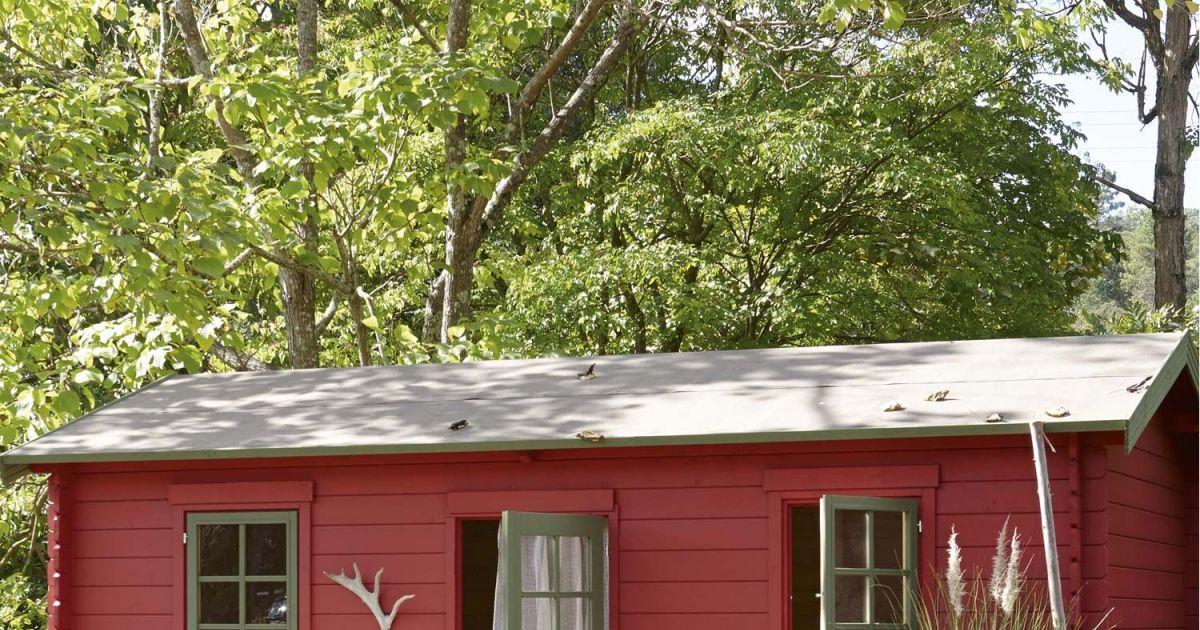 Abri de jardin en bois par leroy merlin - Garage en bois leroy merlin ...