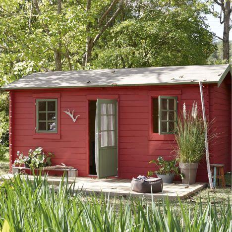 abri de jardin en bois par leroy merlin. Black Bedroom Furniture Sets. Home Design Ideas