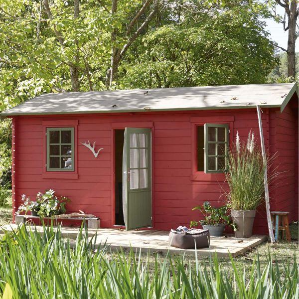 Abri de jardin en bois par leroy merlin for Leroy merlin mobiliario de jardin
