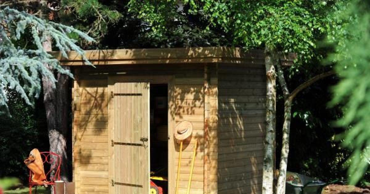 Notre s lection d 39 abris de jardin abri de jardin en bois - Construction d un abri de jardin en bois ...