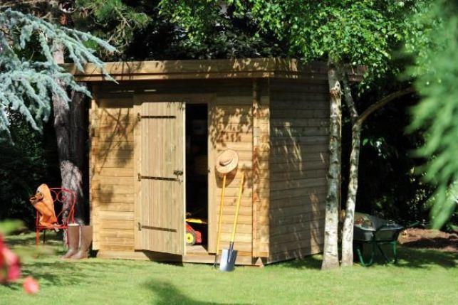 Abri de jardin en bois par Maisonelle