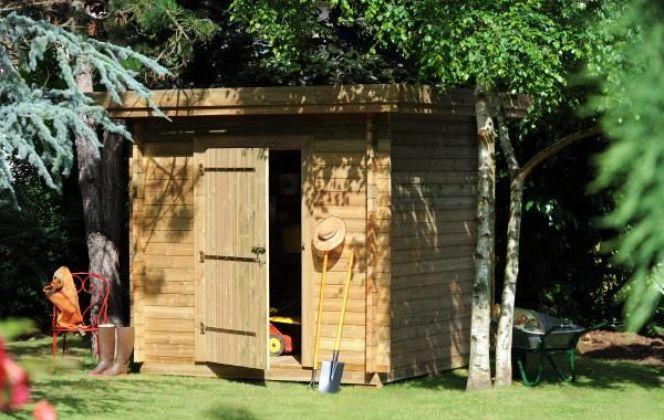 Abri de jardin en bois par Maisonelle © Maisonelle