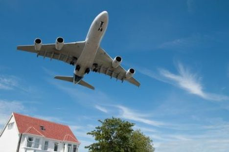 Acheter une maison dans couloir aérien