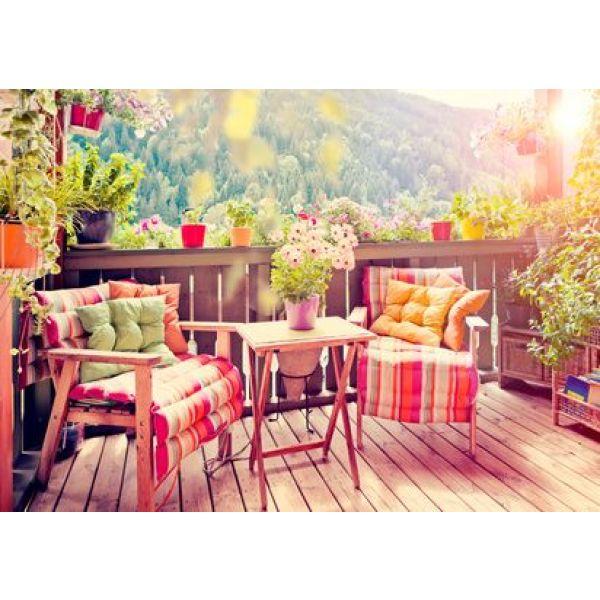 am nager son balcon id es et astuces. Black Bedroom Furniture Sets. Home Design Ideas