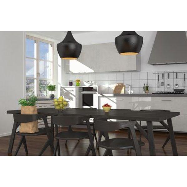 am nager un coin repas dans une cuisine. Black Bedroom Furniture Sets. Home Design Ideas