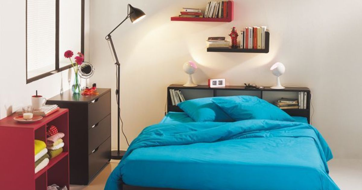 am nager une chambre pour adolescent. Black Bedroom Furniture Sets. Home Design Ideas