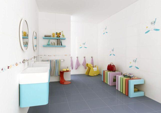 Aménager une salle de bains pour enfants