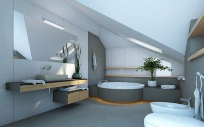 amnager une salle de bains sous les combles
