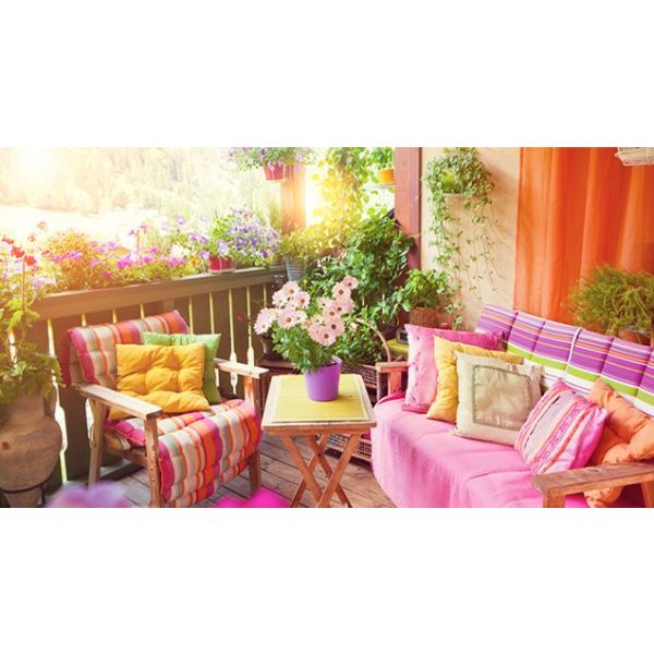 Déco Balcon Et Terrasse D Appartement En Ville: Astuces Et Idées Déco Pour Aménager Un Balcon