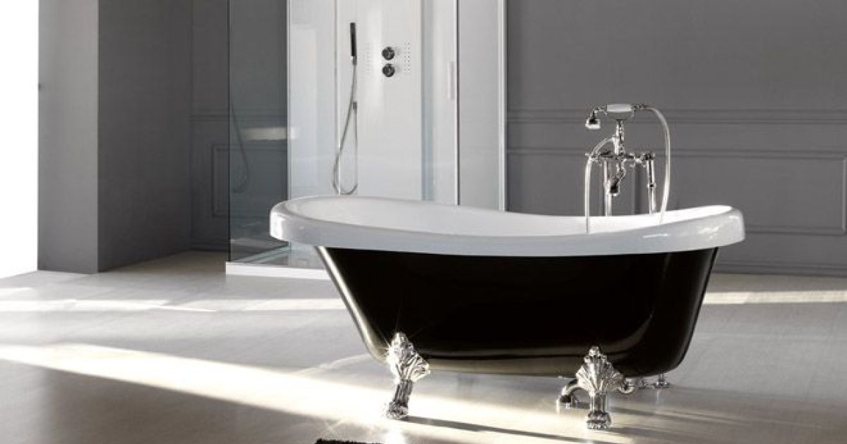 baignoire ilot retro finest with baignoire ilot retro. Black Bedroom Furniture Sets. Home Design Ideas