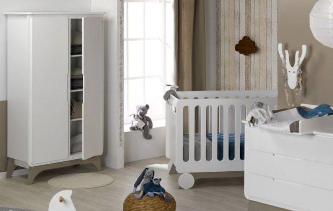 Belle décoration scandinave pour cette chambre de bébé. © Chambrekids