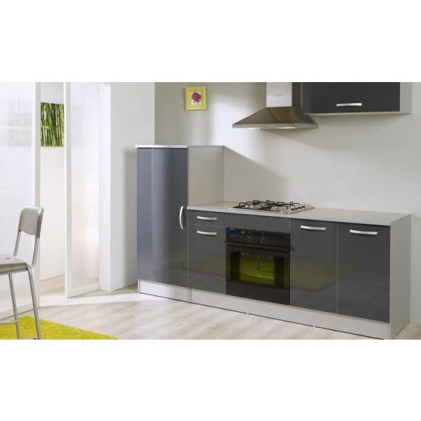 Les blocs cuisine gagner de l 39 espace dans une cuisine for Cuisine gris laque