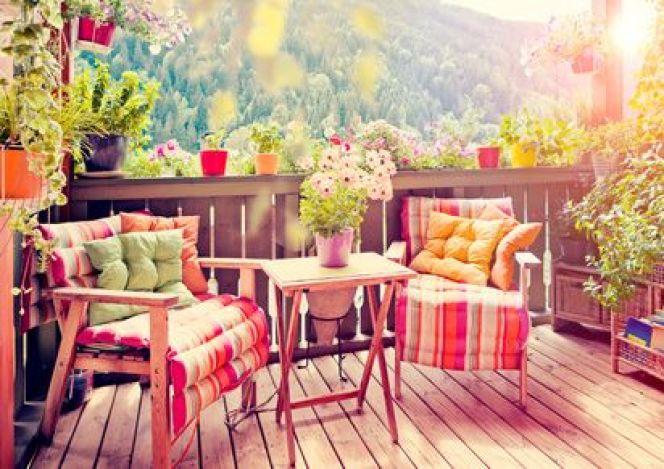 Brise-vent et brise-vue pour terrasse