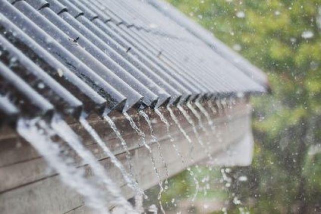 Bruit de pluie sur une véranda