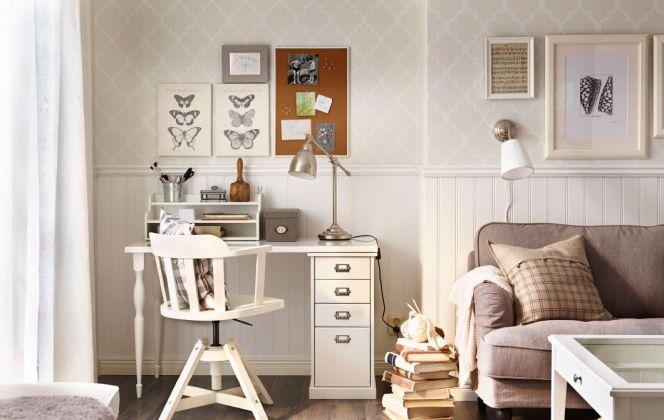 Bureau campagnard par Ikea © Ikea