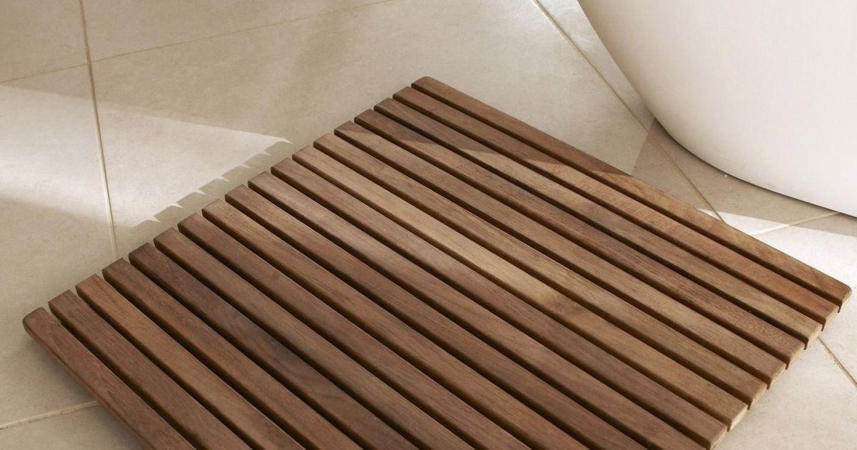 Le caillebotis de salle de bain utile pour la sortie de - Caillebotis salle de bains ...