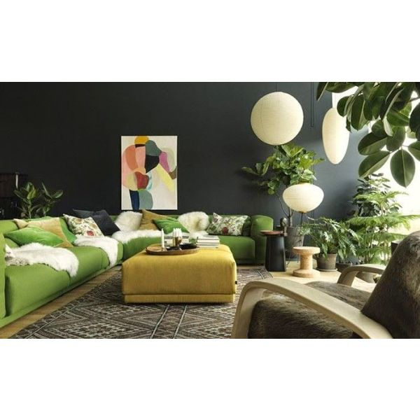cap sur la tendance urban jungle en d co. Black Bedroom Furniture Sets. Home Design Ideas